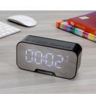 Caixa de Som Bluetooth com Relógio