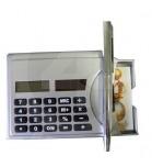 Calculadora com Caneta e Porta Cartão