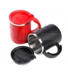 Caneca Térmica 400 ml Alumínio / Plástica