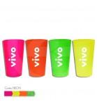 Copo Plástico 320 ml Neon